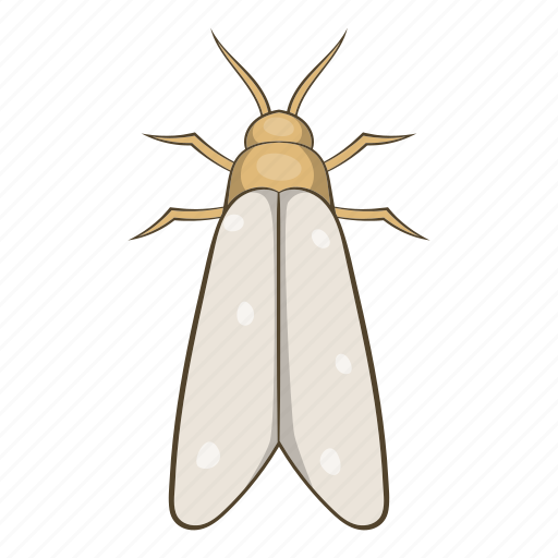 bug, cartoon, fly, gnat, insect, moth, wing icon