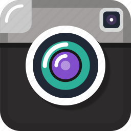app, camera, instagram, like, photo, share, social icon