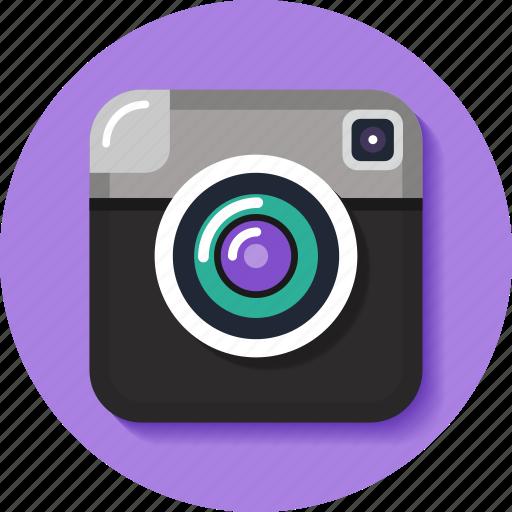 camera, instagram, like, photo, retro, share, social icon