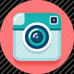 app, camera, instagram, like, photo, retro, social icon