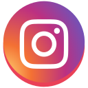 instagram, instagram new design, round, social media icon