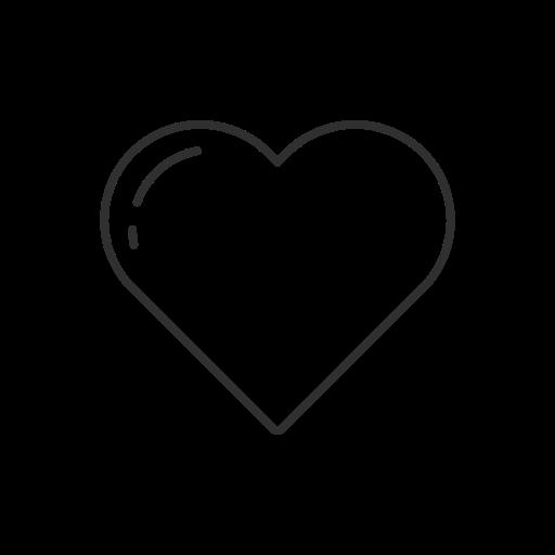 Heart, instagram, like, notification icon