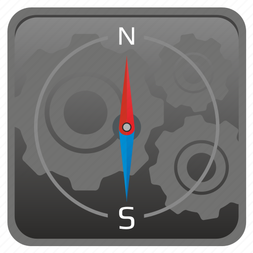 compass, gps, location, map, navigation, place icon