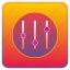 levels, options, preferences, setting, settings, tools icon