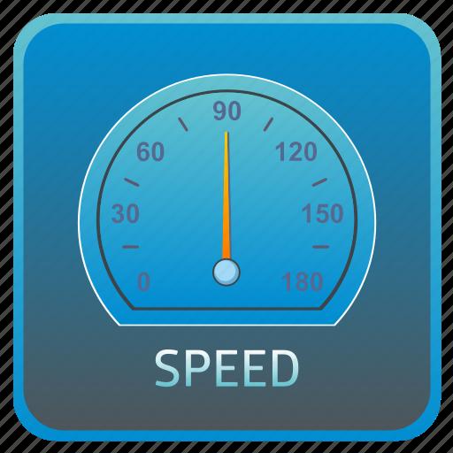 dashboard, fast, meter, speed, speedometer icon