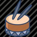 drum, instrument