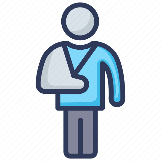Accident, injury, insurance, protection, safe, safety icon