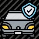 car, shield, insurance, protection