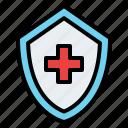medical, shield, insurance, protection