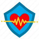 business, insurance, life, people, protection, security, shield icon