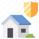 care, estate, home, house, insurance, real, safety icon