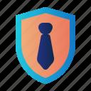 corporate insurance, employee insurance, guard, insurance, protection, shield, worker insurance icon