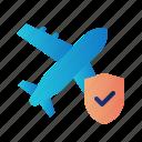 flight insurance, guard, insurance, plane insurance, protection, shield, travel