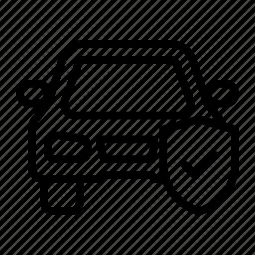 auto insurance, car insurance, guard, insurance, protection, shield, vehicle icon