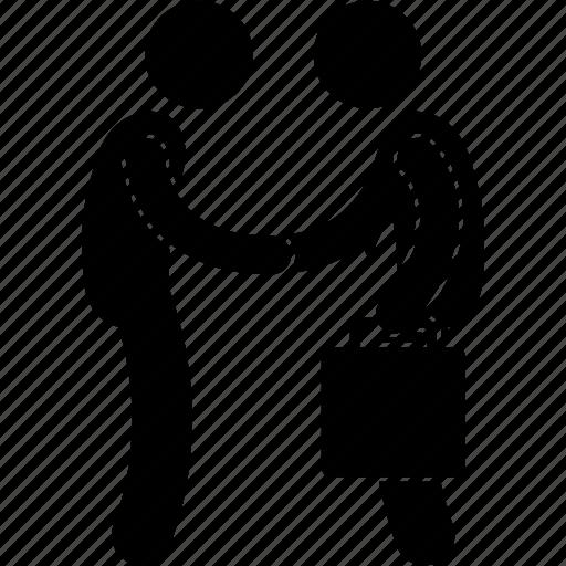Advisor, agent, claim, handshake, insurance, prospect, prospecting icon - Download on Iconfinder