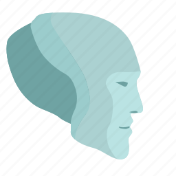 face, head, intellect, robot, skin icon