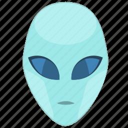 face, head, robot, skin, ufo icon