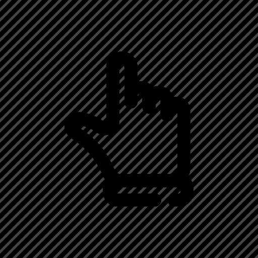cursor, hand, pointer icon