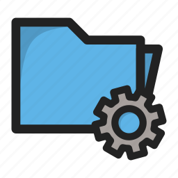 folder, package, setting, settings, tools icon