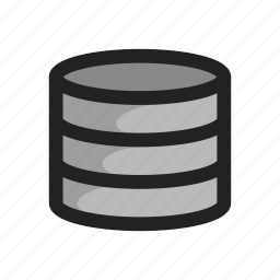 database, hd, server, storage icon