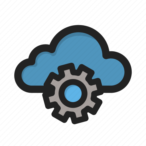 cloud, setting, settings, storage, tools icon