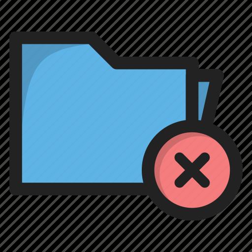 close, cross, delete, folder, package icon