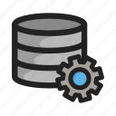 database, hd, setting, settings, sever, storage, tools icon