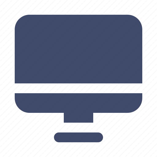 computer, desktop, device, interface, monitor, pc icon