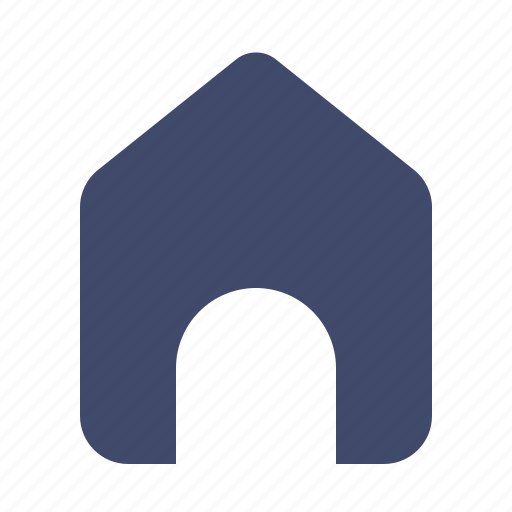 building, estate, home, house, property, user interface icon