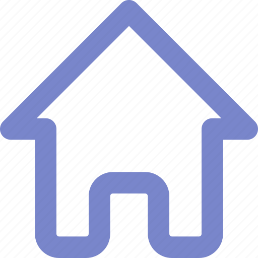 expanded, home, outline, ui icon