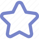 expanded, outline, rating, star, ui icon