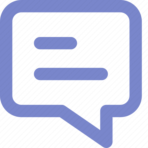 bubble chat, chat, expanded, outline, ui icon