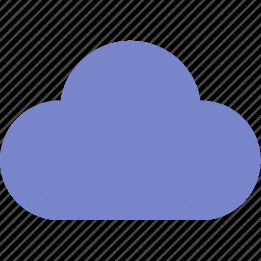 cloud, solid, ui, web icon