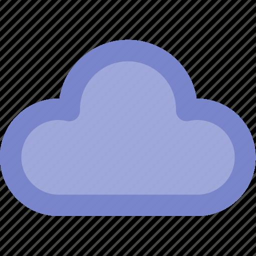 cloud, color, lineal, outline, ui, web icon