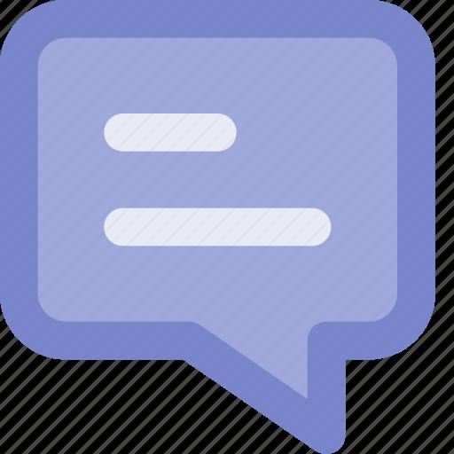bubble, bubble chat, chat, color, lineal, outline, ui icon