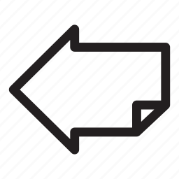arrow, direction, interface, left, move icon