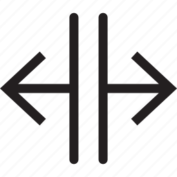 arrow, direction, interface, left, lines, move, right icon