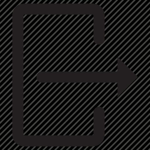 arrow, box, interface, move, upload icon