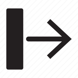 arrow, direction, interface, left, move, transfer icon