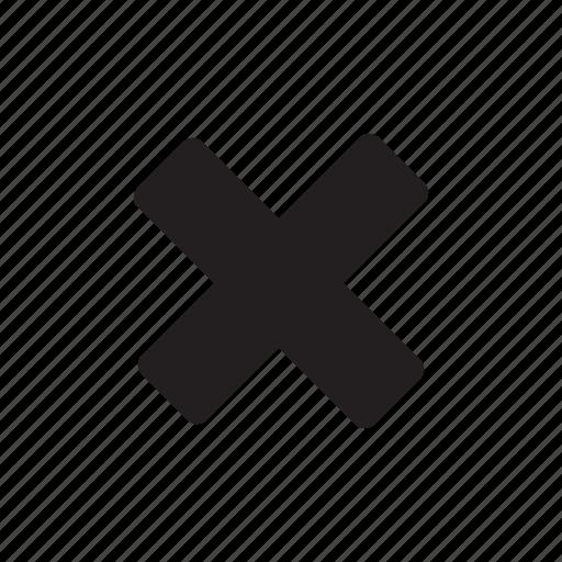 calculate, cancel, checkmark, delete, interface, multiply, no icon