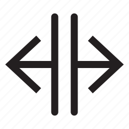 arrows, direction, interface, left, move, right, sides icon