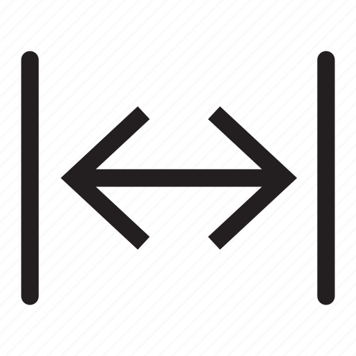 arrows, direction, interface, lines, sides icon