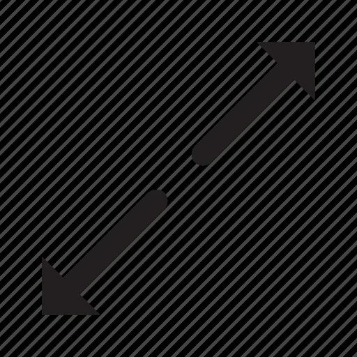 arrows, direction, interface, move, splitting icon