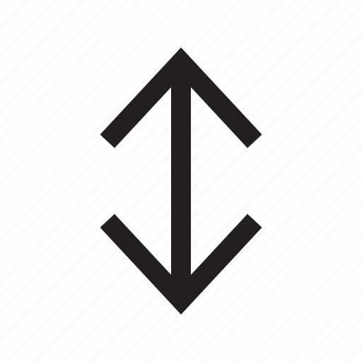 arrows, direction, down, interface, move, up icon