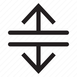direction, down, interface, lines, move, up icon
