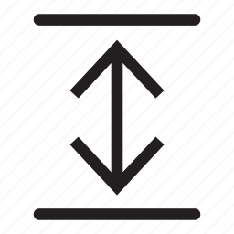 arrows, direction, down, interface, lines, move, up icon