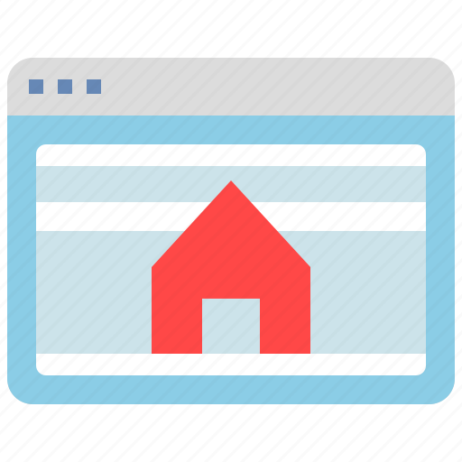 browser, home, homepage, interface, internet, website, window icon