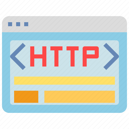 browser, http, interface, internet, website, window icon