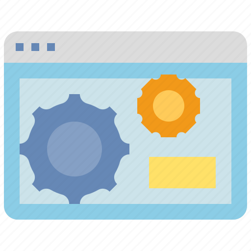 browser, computer, interface, setting, window icon