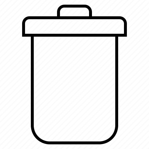 bin, recycle, rubbish, trush icon